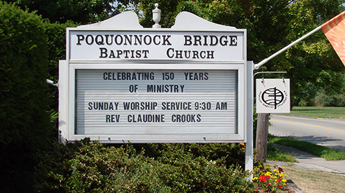 Poquonnock Bridge Baptist Church | Groton CT